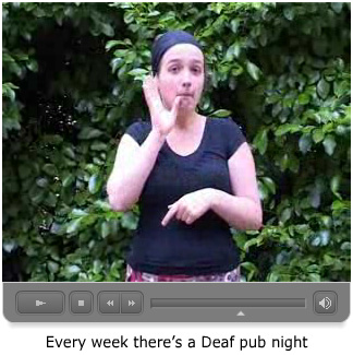 Maartje over de Deaf Pub in Bristol